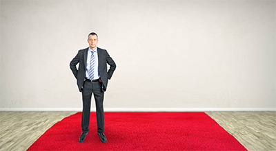 The Red Carpet customer